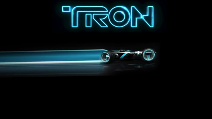 tron zoom background