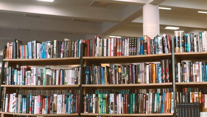 microsoft teams bookshelf background for virtual meetings reading room