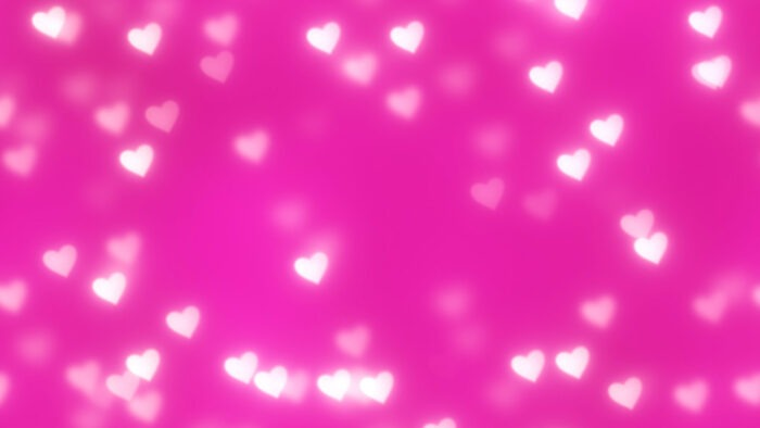 pink heart zoom virtual backgrounds romantic love valentines background