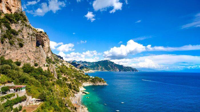 amalfi coast italy background zoom virtual images