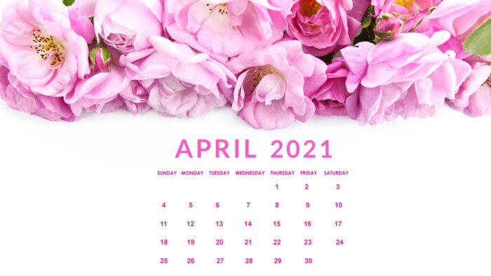 april 2021 calendar desktop wallpaper background download
