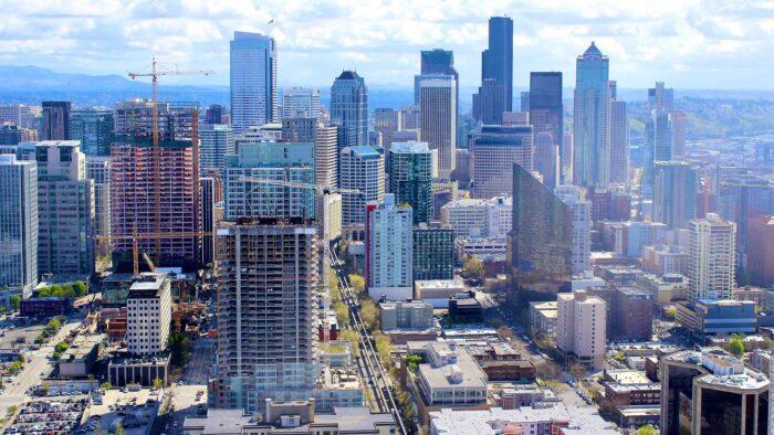 cityscape zoom background