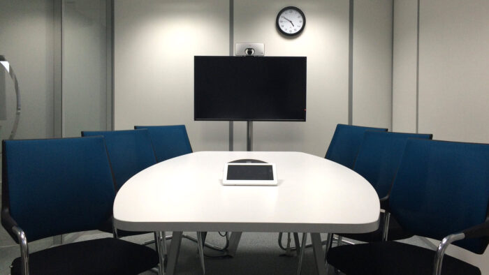 corporate zoom background executive boardroom