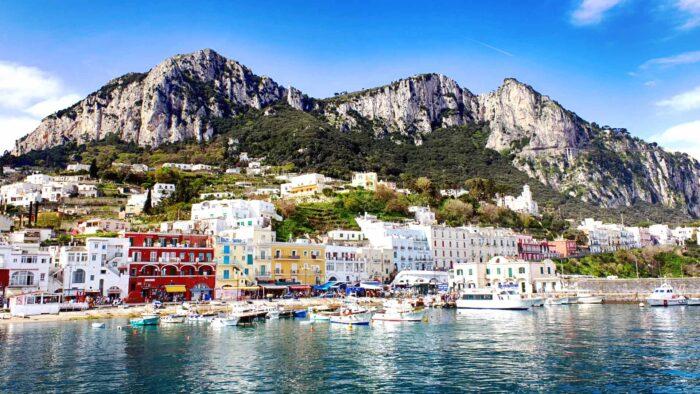 italy zoom background capri virtual backdrop