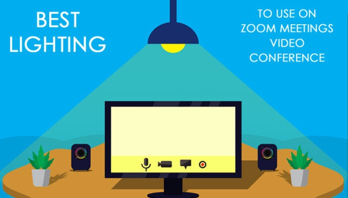Best lighting to use on Zoom meetings video conference