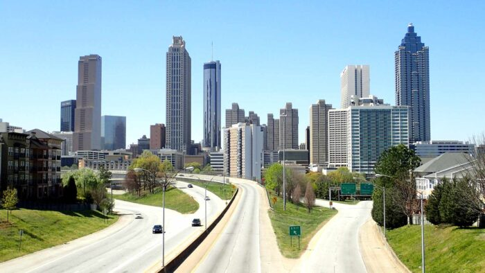 city of atlanta zoom virtual backgrounds skyline office building skyscraper cityscape background