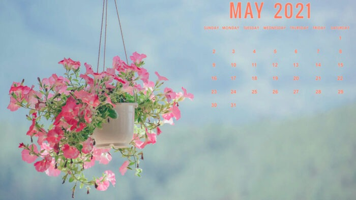 may 2021 calendar desktop laptop computer wallpaper free 1920x1080 pics