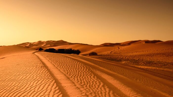 hot desert zoom virtual background