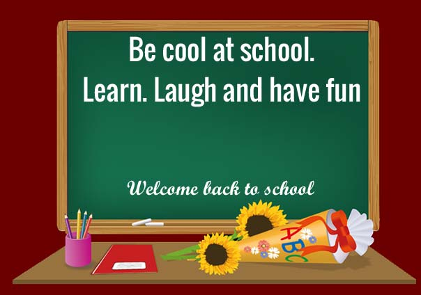 inspirational welcome back to school quotes