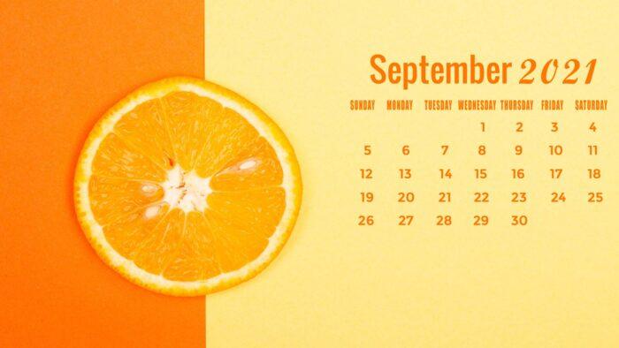 september 2021 calendar desktop laptop computer wallpaper free sep 1920x1080 pics