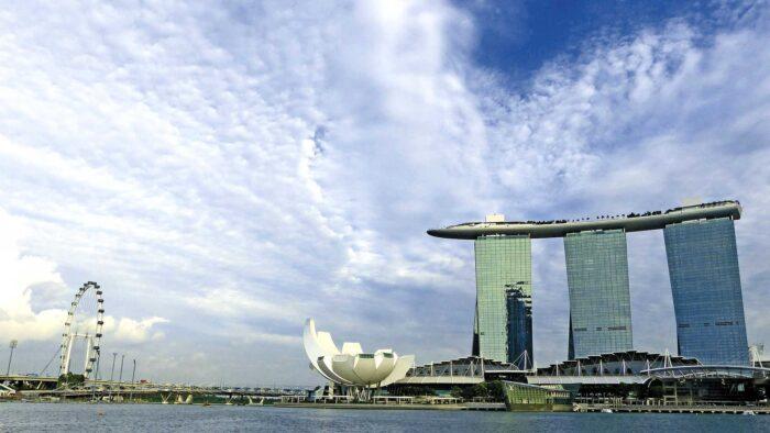singapore background skyline architecture landmark zoom virtual backgrounds