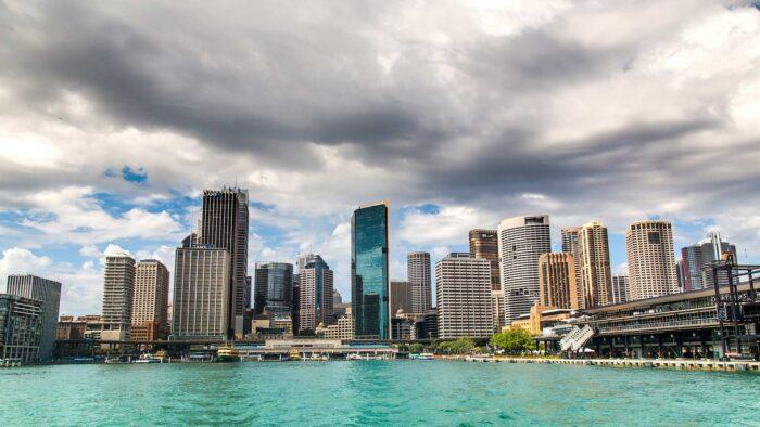 sydney background Australia city skyline zoom virtual backgrounds