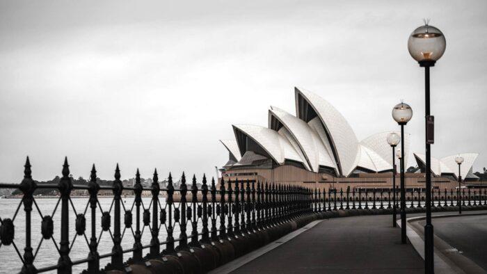 sydney zoom background opera house