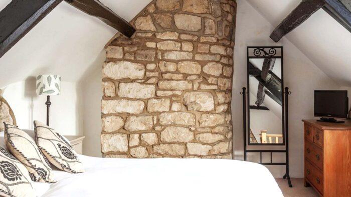 Bedroom wall google meet background