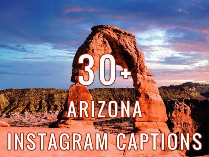 Arizona instagram captions