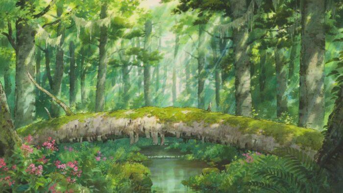 studio ghibli anime zoom virtual backgrounds wallpaper background