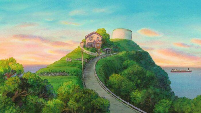 studio ghibli background anime wallpaper zoom virtual backgrounds