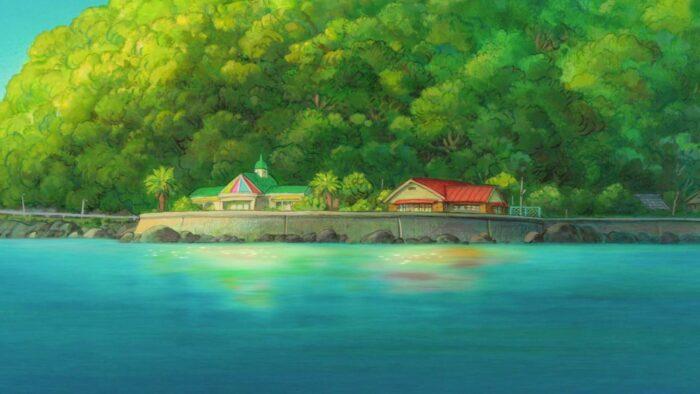 studio ghibli zoom anime wallpaper virtual background